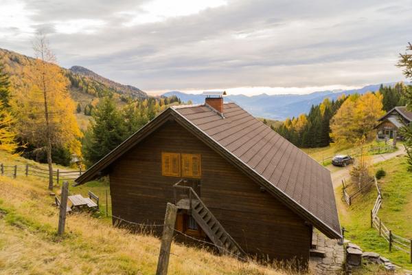 Göriacheralm Hütte - mit Aussicht