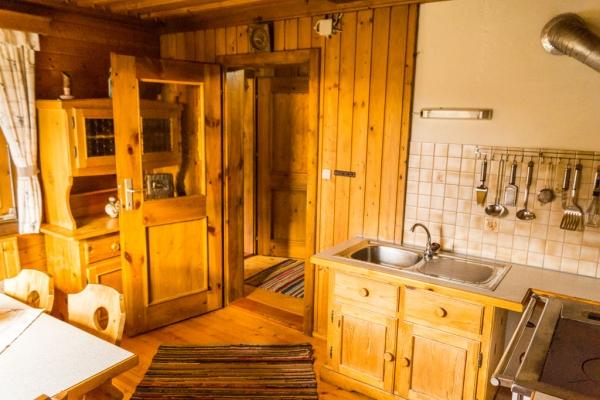 Göriacheralm Hütte - Wohnküche