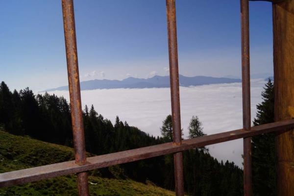 Tröbacheralm Hütte - Schlafzimmer mit Aussicht