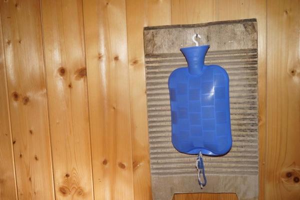 Tröbacheralm Hütte - Wärmflasche