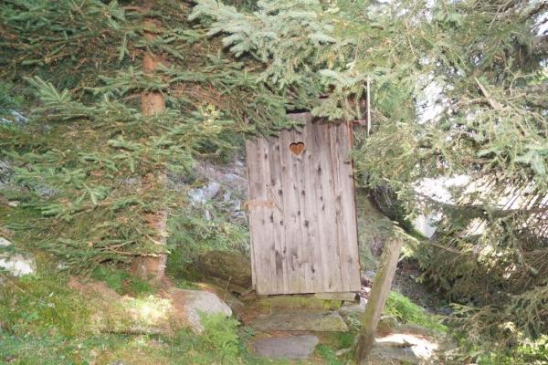 Tröbacheralm Hütte - Plumpsklo