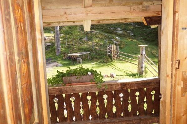Tröbacheralm Hütte - Ausgang
