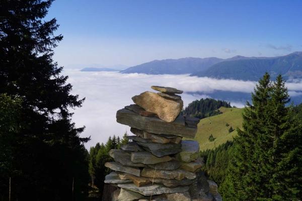 Tröbacheralm Hütte - Aussicht